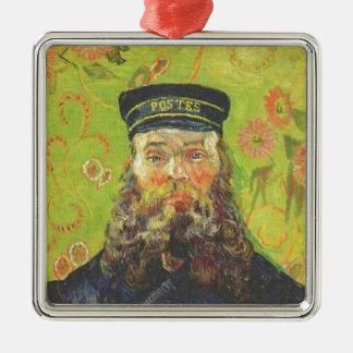 Ornamento De Metal Carteiro Joseph Roulin - Vincent van Gogh do