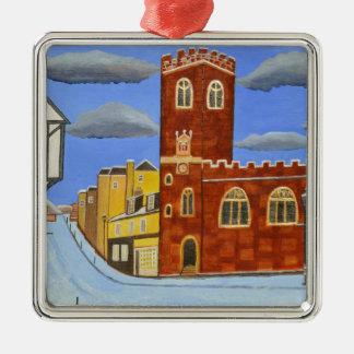 Ornamento De Metal Casa de Tudor em Exeter