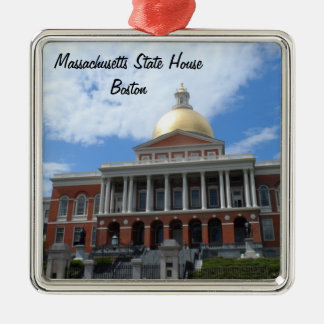 Ornamento De Metal Casa do estado de Massachusetts, Boston