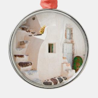 Ornamento De Metal Casa em Santorini