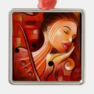 Ornamento De Metal Casselopia - sonho do violino