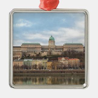 Ornamento De Metal Castelo Hungria Budapest de Buda no dia