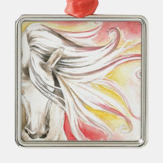 Ornamento De Metal Cavalo andaluz da luz do sol