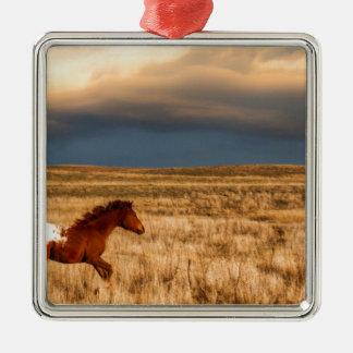 Ornamento De Metal Cavalo apenas