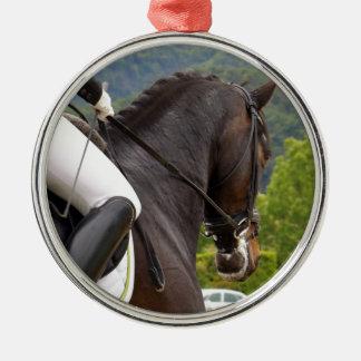 Ornamento De Metal Cavalo Dressage