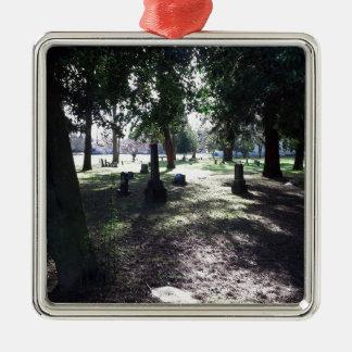 Ornamento De Metal Cemitério sombrio