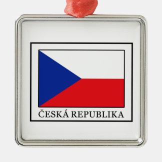 Ornamento De Metal Ceska Republika