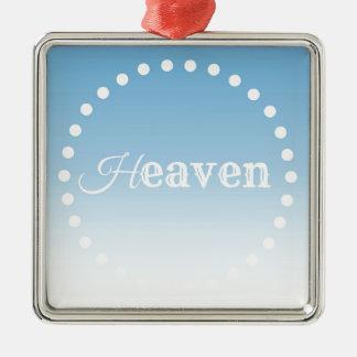 Ornamento De Metal Céu