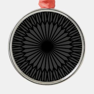 Ornamento De Metal Chakra escuro