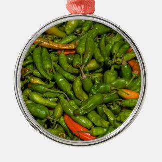 Ornamento De Metal Chilis para a venda no mercado