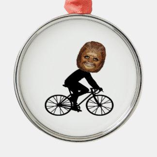 Ornamento De Metal Ciclista legendário