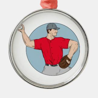 Ornamento De Metal Círculo de jogo Dracma da bola do jarro americano