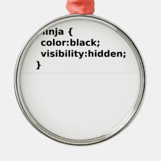 Ornamento De Metal Classe do CSS do codificador de Ninja