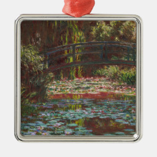 Ornamento De Metal Claude Monet