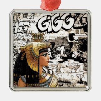 Ornamento De Metal Cleopatra
