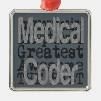 Ornamento De Metal Codificador médico Extraordinaire