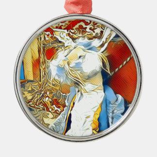 Ornamento De Metal Coelho do circo
