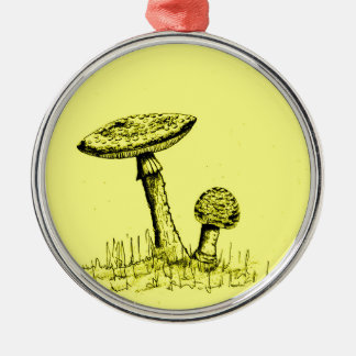 Ornamento De Metal Cogumelos e Toadstools art.