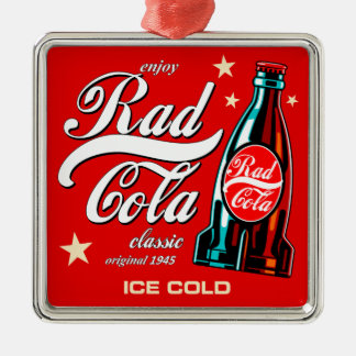 Ornamento De Metal Cola do Rad