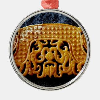 Ornamento De Metal Coleção do jade, jade chinês arcaico