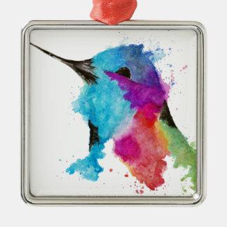 Ornamento De Metal colibri