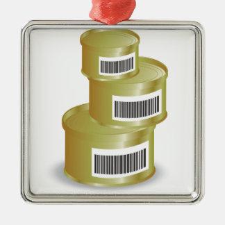 Ornamento De Metal comida 105Canned _rasterized