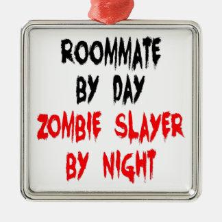 Ornamento De Metal Companheiro de quarto do assassino do zombi