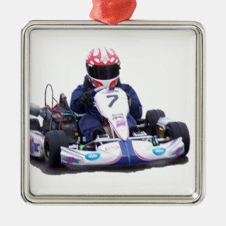 Ornamento De Metal Competência de Kart