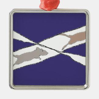 Ornamento De Metal Competição desenfreada infinita