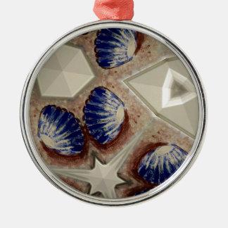 Ornamento De Metal Conchas e mais