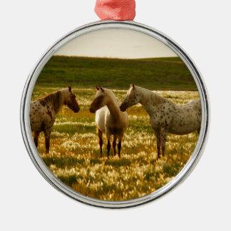 Ornamento De Metal Conferência do cavalo
