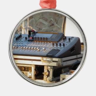 Ornamento De Metal Console de mistura audio profissional