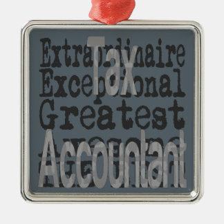 Ornamento De Metal Contador do imposto Extraordinaire