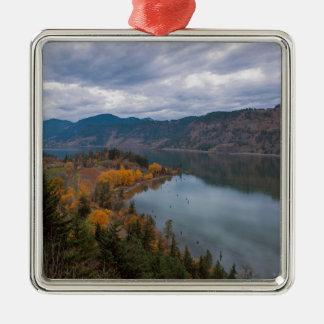 Ornamento De Metal Cor da queda ao longo do desfiladeiro Oregon do