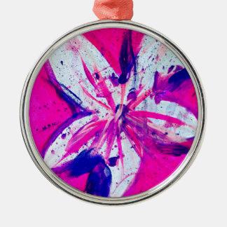 Ornamento De Metal cor-de-rosa-cidade
