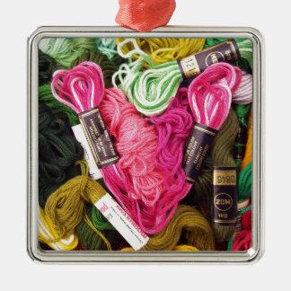 Ornamento De Metal Coração cor-de-rosa brilhante colorido bonito do