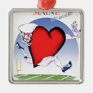 Ornamento De Metal coração principal de maine, fernandes tony