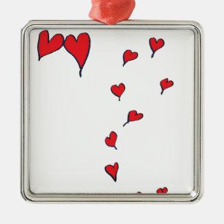 Ornamento De Metal corações 1 por fernandes tony