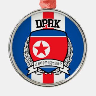 Ornamento De Metal Coreia do Norte