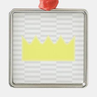 Ornamento De Metal Coroa - tiras das cinzas