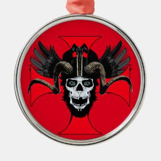 Ornamento De Metal Crânio 3 TW da ram
