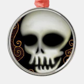 Ornamento De Metal Crânio do fantasma