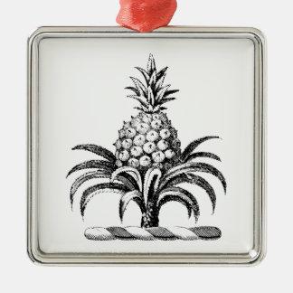 Ornamento De Metal Crista heráldica formal da brasão do abacaxi