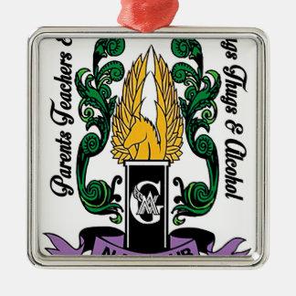 Ornamento De Metal Crista média dos guardiães de Not'Cho