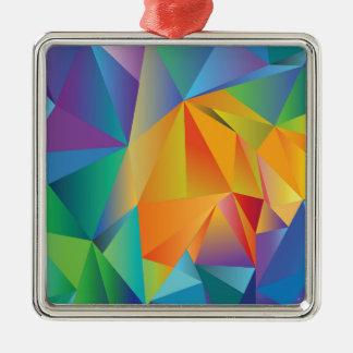 Ornamento De Metal cristal colorido