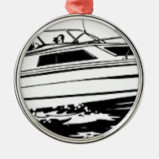 Ornamento De Metal Cruzador do barco da velocidade