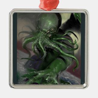 Ornamento De Metal Cthulhu cavalo-força de aumentação Lovecraft