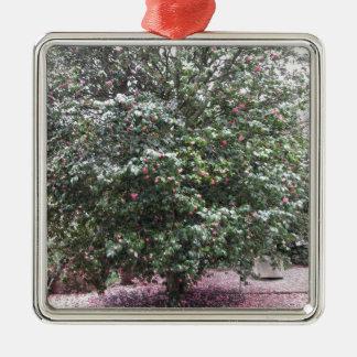 Ornamento De Metal Cultivar antigo da flor do japonica da camélia