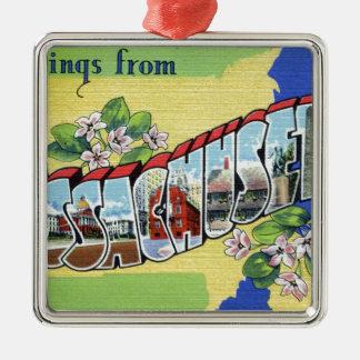 Ornamento De Metal Cumprimentos de Massachusetts