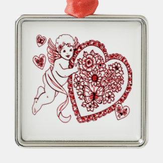 Ornamento De Metal Cupido